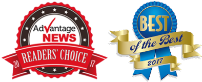 2017 AdVantage News Readers' Choice and 2017 Alton Telegraph Best of the Best